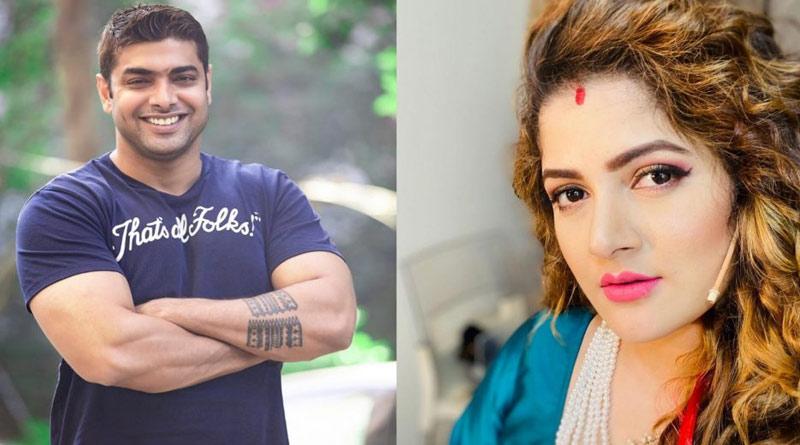 Srabanti Chatterjee husband roshan singh instagram post goes viral   Sangbad Pratidin