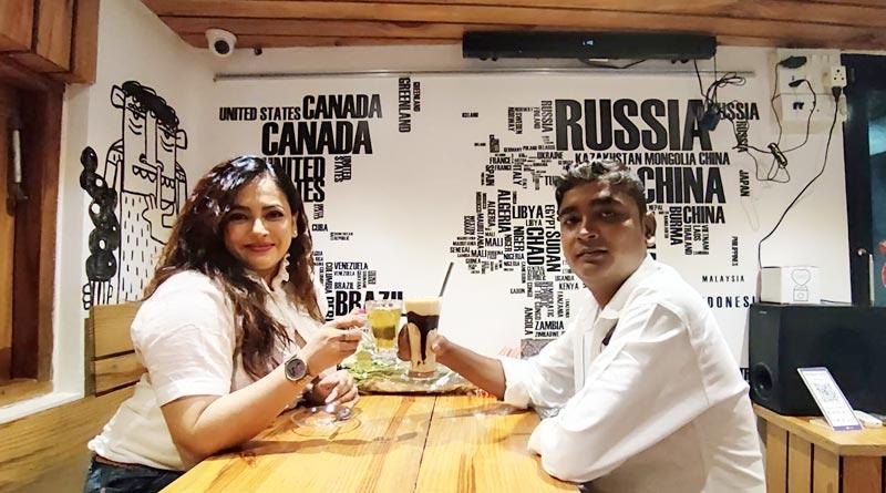 Actress Sreelekha Mitra Shares her coffee date experience with her fan Shasanka Bhavsar | Sangbad Pratidin