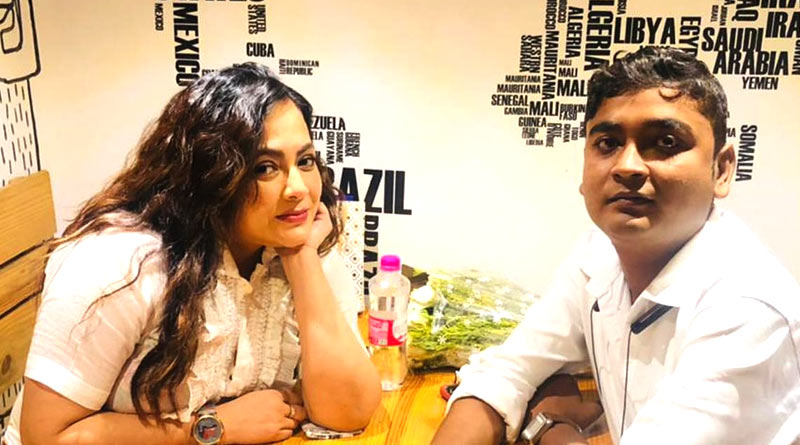 Sreelekha Mitra posted video of her Pawsome date | Sangbad Pratidin