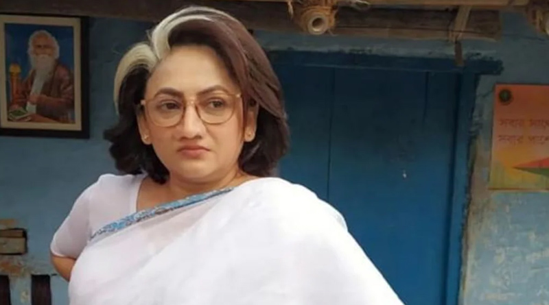 sreelekha mitra posted her new look from his upcoming Movie | Sangbad Pratidin