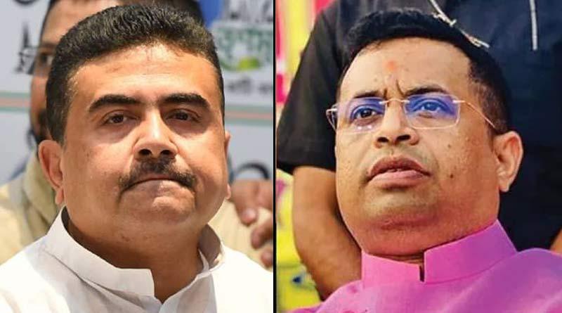 BJP MP Saumitra Khan slams Suvendu Adhikari and Dilip Ghosh on wednesday  Sangbad Pratidin