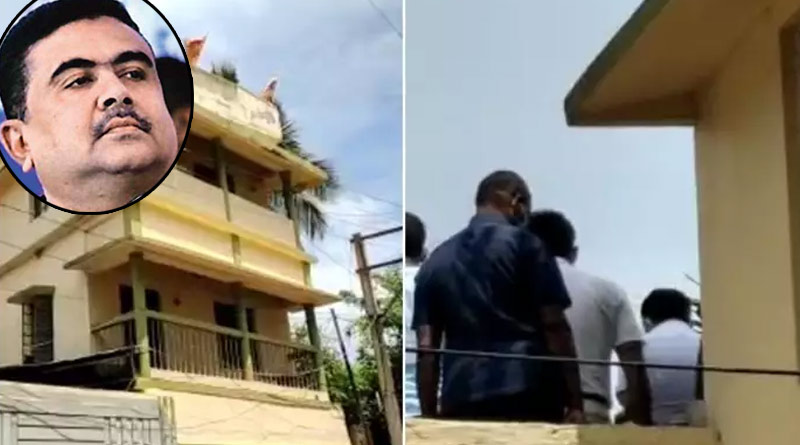 CID officers visit Suvendu Adhikari's residence to probe ex-bodyguard's murder case | Sangbad Pratidin