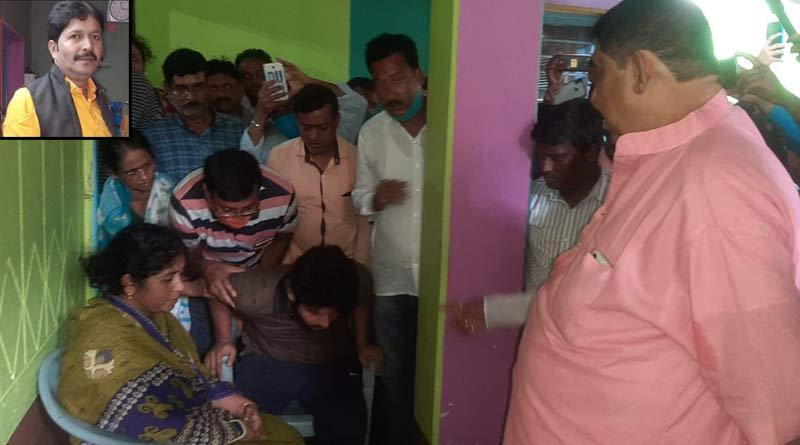 Mangalkot TMC leader murder case: TMC leader Anubrata Mandal meets with victim's family । Sangbad Pratidin