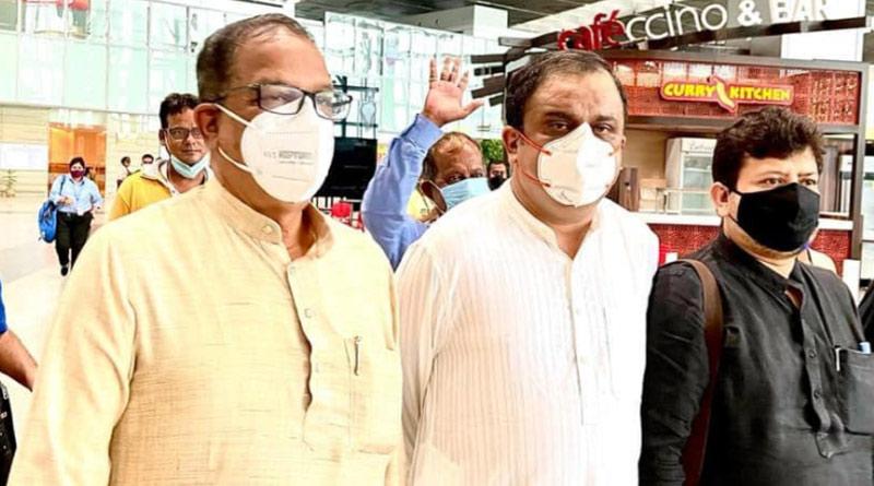 TMC 3 members are denied to enter Tripura, stucked at Agartala Airport | Sangbad Pratidin