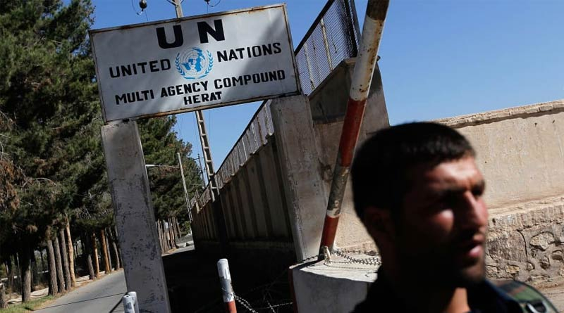 UN compound attacked in Afghanistan, at least one guard killed | Sangbad Pratidin
