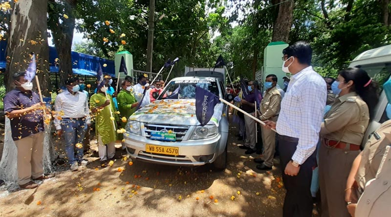 Tree ambulance service started in Purulia | Sangbad Pratidin