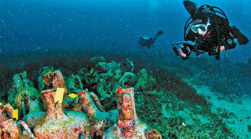 Underwater Museum opens ancient world to dive tourists in Greece | Sangbad Pratidin