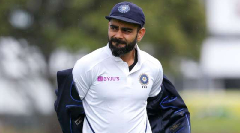 Virat Kohli slams the wall in frustration after losing his wicket on Day 4 of Oval Test   Sangbad Pratidin