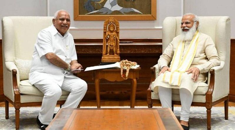 Hemmed in, Yediyurappa faces exit, calls meeting of MLAs July 26 | Sangbad Pratidin