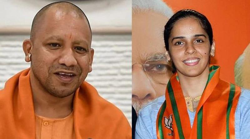 Saina Nehwal Tweet On BJP's Big Show In UP Stirs Up Controversy | Sangbad Pratidin