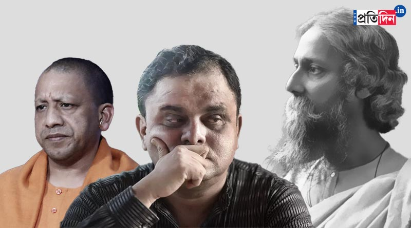 UP govt junks Rabindranath Tagore from school syllabus, includes chapter on Ramdev, Bartya Basu lashes out   Sangbad Pratidin