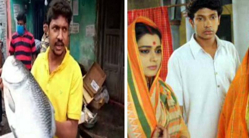 Bengali TV actor becomes fish seller during corona pandemic | Sangbad Pratidin