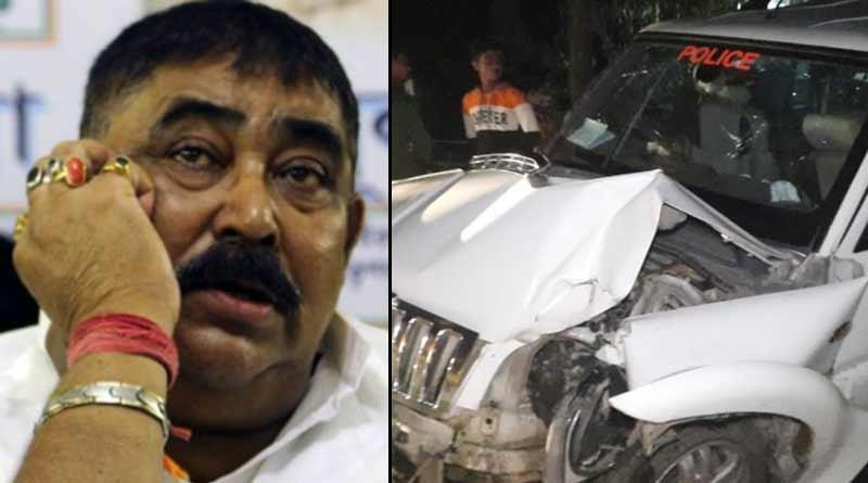 TMC leader Anubrata Mandals convoy met an accident at Birbhum | Sangbad Pratidin