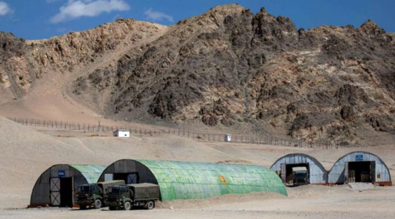 China building concrete camps few kms from Naku La in Sikkim, eastern Ladakh | Sangbad Pratidin