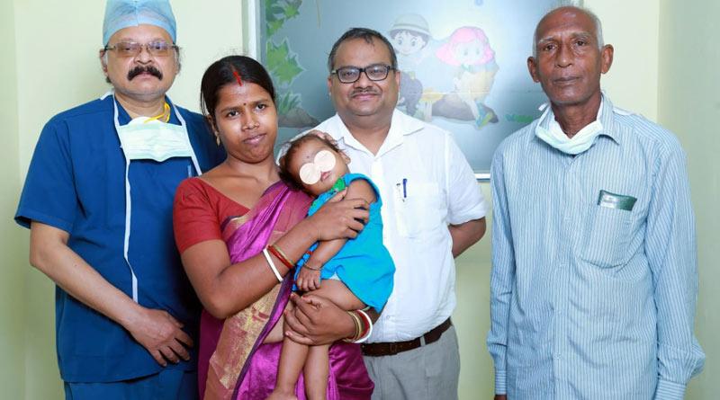 Kolkata hospital saves toddler by performing complex heart surgery | Sangbad Pratidin