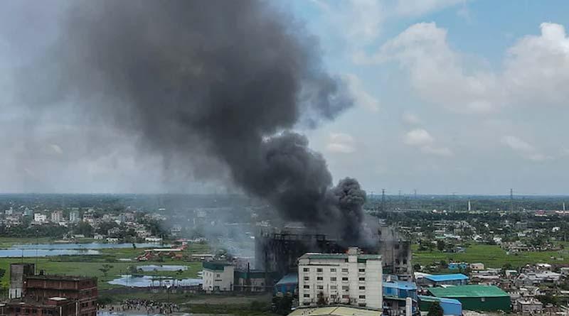 52 Killed In Bangladesh Factory Fire: Police, Building Still In Flames | Sangbad Pratidin