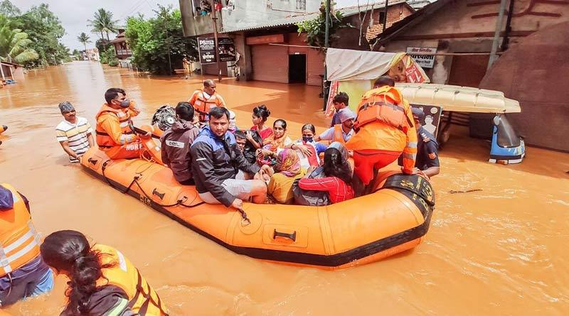 112 dead, many missing in Maharashtra due to rainfall and landslides | Sangbad Pratidin