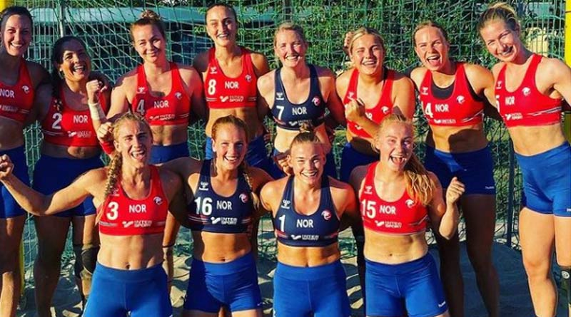 Women Handball Team of Norway Fined For Not Wearing Bikini Bottoms | Sangbad Pratidin