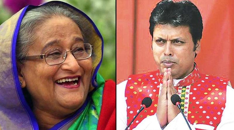 Tripura CM Biplab Kumar Deb sends pineapple to Bangladesh PM Sheikh Hasina   Sangbad Pratidin