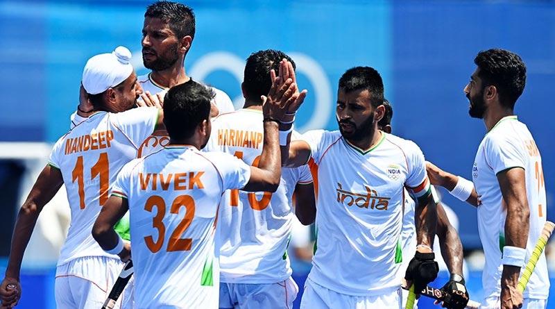 India men's hockey team beat New Zealand 3-2 in opening game in Tokyo Olympics | Sangbad Pratidin