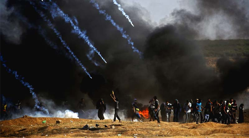 Report claims Israeli Fire Kills Palestinian youth In West Bank Unrest | Sangbad Pratidin