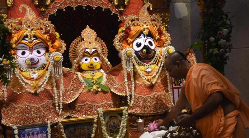 Rath Yatra 2021 celebrated following norms amidst raging corona pandemic | Sangbad Pratidin
