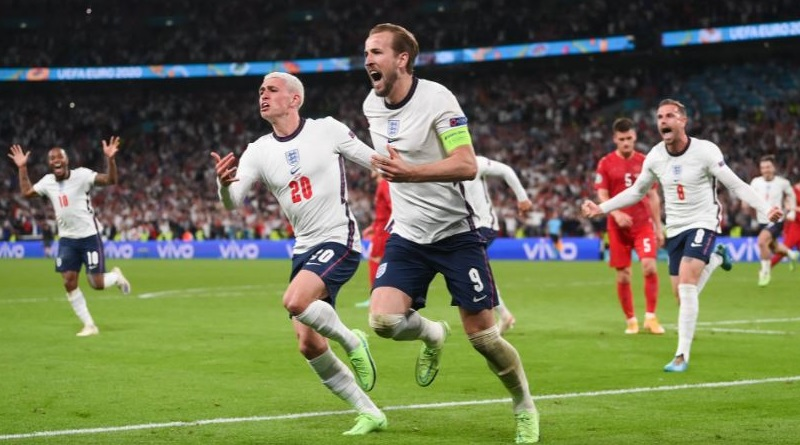 Euro 2020: England wins in style against Denmark and through to the Final for the first time | Sangbad Pratidin