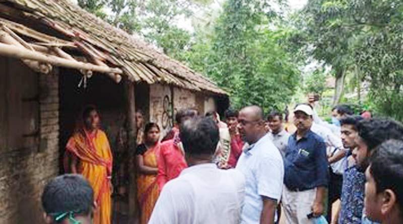 BJP workers of Purba Medinipur allegedly vandalised TMC workers house | Sangbad Pratidin