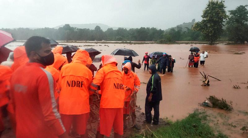 At least 36 people Dead In Landslides In Rain-Hit Maharashtra | Sangbad Pratidin