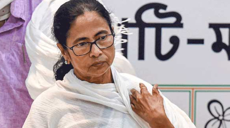 CM Mamata Banerjee Visits SSKM Hospital to see relative   Sangbad Pratidin
