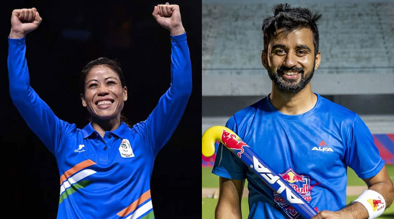 Mary Kom, Manpreet Singh To Be India's Flag Bearers in Tokyo Olympics | Sangbad Pratidin