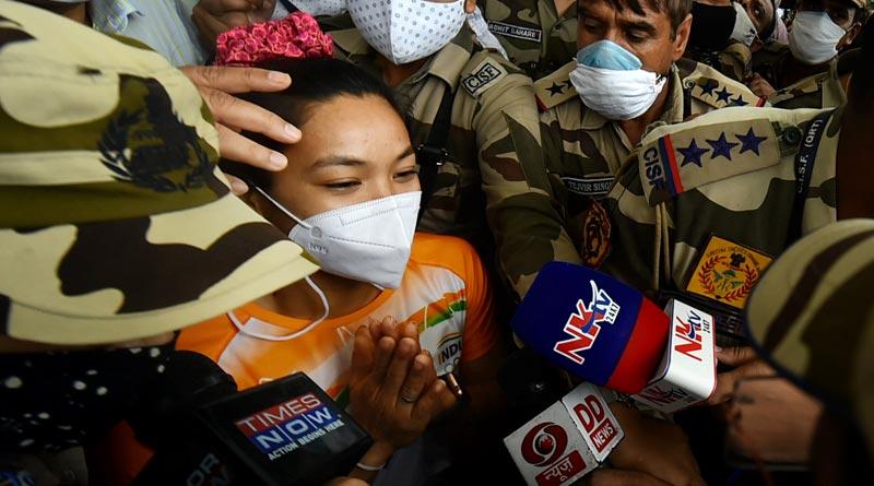 Manipur government to appoint Mirabai Chanu as ASPolice after Tokyo success | Sangbad Pratidin