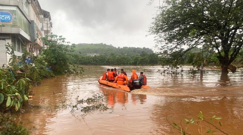At least 129 dead as landslide and heavy rain hit Maharashtra | Sangbad Pratidin