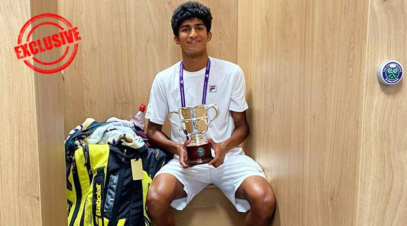 Novak Djokovic my model, says tennis player Samir Banerjee | Sangbad Pratidin