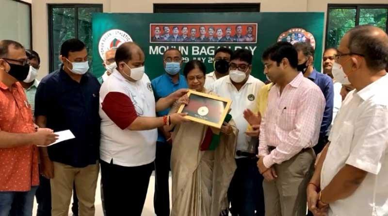 Mohun Bagan Day: Shibaji Banerjee has been given Mohun Bagan Ratna | Sangbad Pratidin