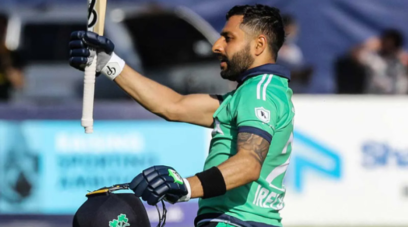 Ireland's Simi Singh Scripts History, Becomes First Batsman To Score A 100 At No.8 In ODIs | Sangbad Pratidin