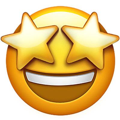 star-struck-emoji meaning