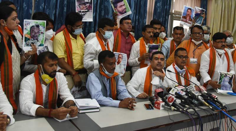 No mention of post poll violence in Governor's speech: BJP's Suvendu Adhikari | Sangbad Pratidin
