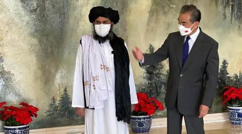 Taliban delegation meets Chinese foreign minister Wang Yi | Sangbad Pratidin