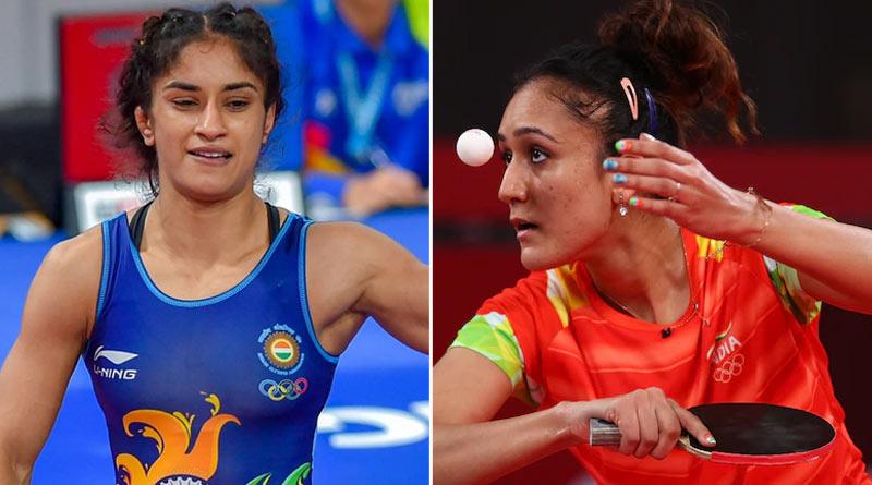 Tokyo Olympics 2020: Manika Batra did wrong, Vinesh Phogat misses flight | Sangbad Pratidin