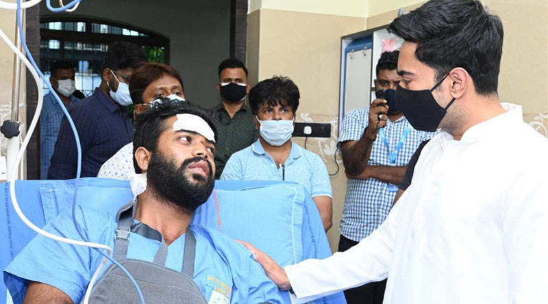 TMC leader Abhishek Banerjee is at SSKM hospital   Sangbad Pratidin