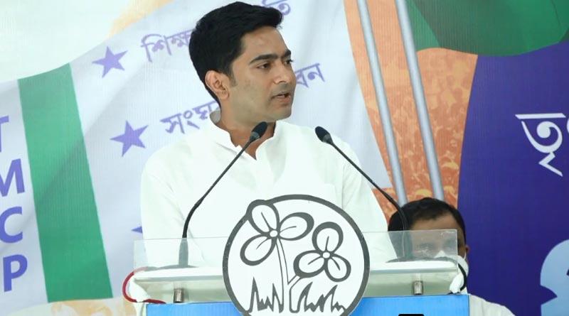 TMC MP Abhishek Banerjee slams BJP, challenges Amit Shah | Sangbad Pratidin