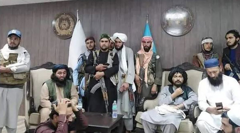 Taliban fighters reportedly arrived at the Afghanistan Cricket Board headquarters in Kabul | SangbadPratidin
