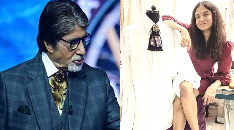 Tie-Bow of Amitabh Bachchan at Kaun Banega Crorepati 13 set is trending on Fashion World