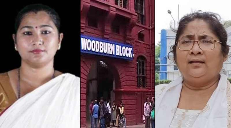 TMC MP Aparupa Poddar and Dola Sen is at SSKM hospital | Sangbad Pratidin
