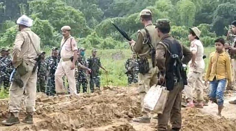 Fresh clash erupts at Assam-Mizoram border | Sangbad Pratidin