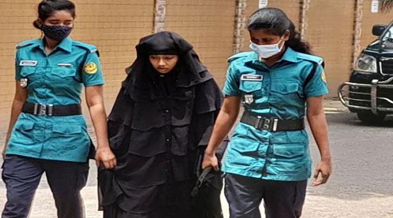 Bangladesh: first woman member of banned terorist organisation from Dhaka   Sangbad Pratidin