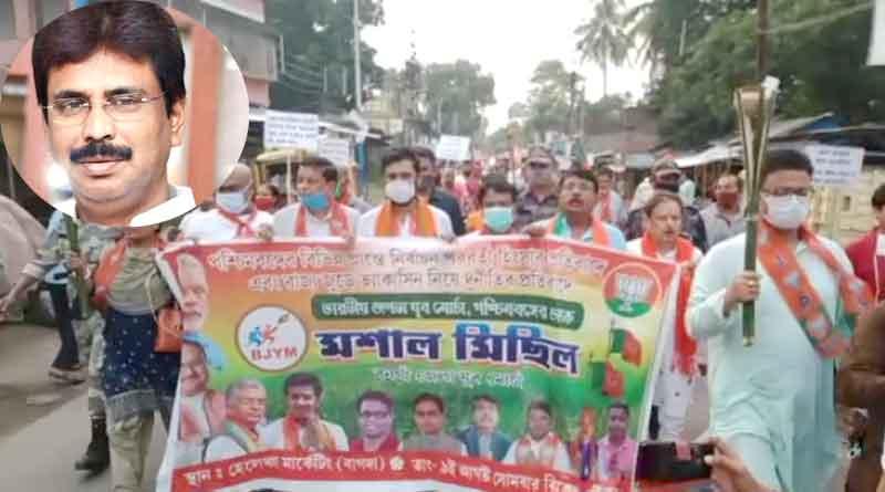 BJP MLA Biswajit Das skips party programme at Bangaon   Sangbad Pratidin