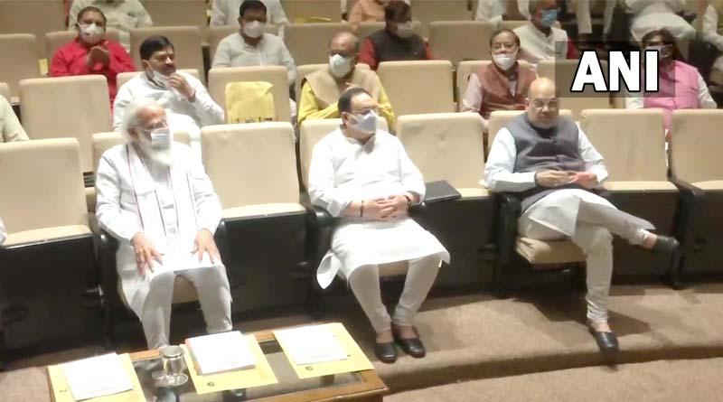 PM Narendra Modi anguished over paper-snatching, papri Chaat remark of TMC MPs | Sangbad Pratidin