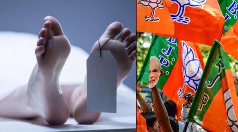 A BJP leader's hanging body recover in Birbhum । Sangbad Pratidin
